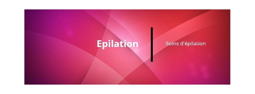 Soins Epilation pré et post épilation