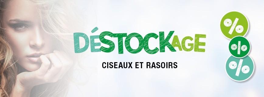 Déstockage Ciseaux et Rasoirs
